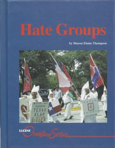 Hate Groups cover