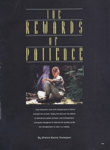 Rewards of Patience Zoo Life cover for web