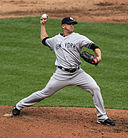 Pitcher Scott Proctor, Photo Keith Allison on Flickr